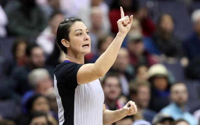 getInterUrl?uicrIvZQ=cb840f29180afef95e03abec591de3dd - There are only 7 female referees in NBA history, and 5 of them have not played the playoffs