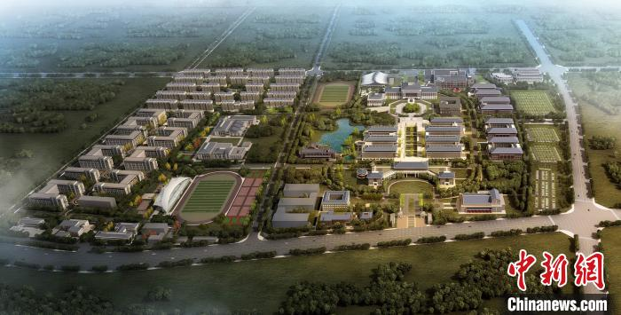 The new campus project of Minzu University of China resumes work, the first batch of 5,000 students settled in September(2)
