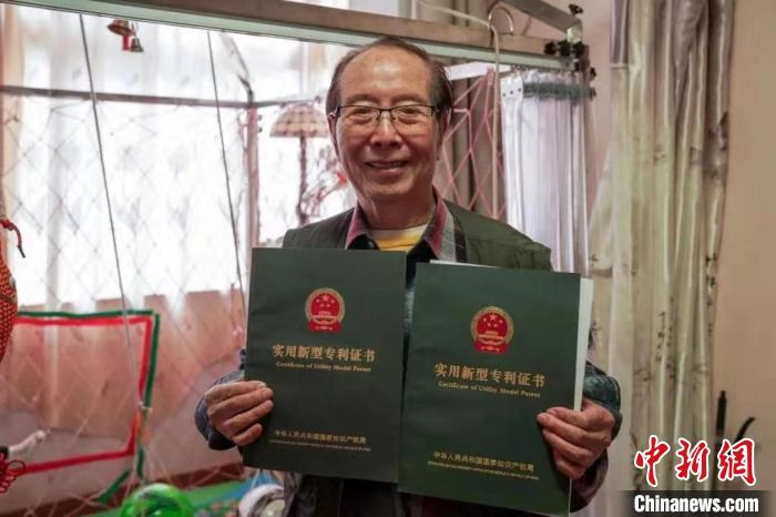 """You can play at home! Shanghai 89-year-old """"inventor grandpa"""" builds a football house(1)"""