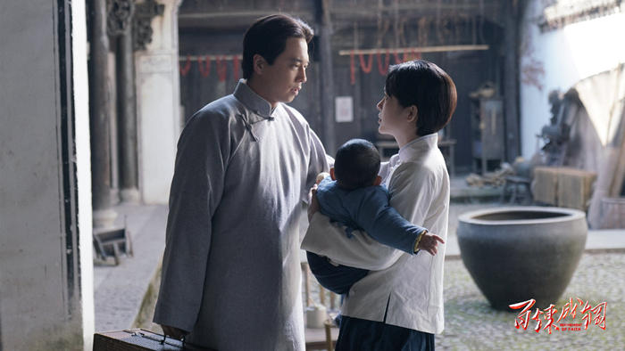 [The new force of a century-old party] played Mao Zedong for the second time and Wang Lei: The theme of historical revolution should continue to be filmed(1)