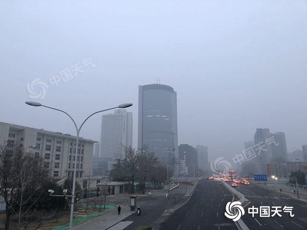Today, Jingzhe Beijing Xiaoyu debuted, and the fog shrouded many high-speed highways.