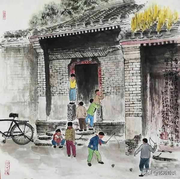 getInterUrl?uicrIvZQ=ddd3392a2ec7f28ec7c5e05256d1c52f - He painted the childhood of those born in the 70s and 80s, and the pictures are touching. Netizens:I can't go back.