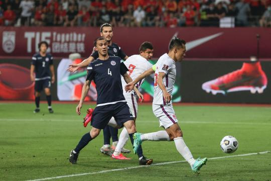 World Preliminary 40 Finals: National Football 7-0 victory over Guam(15)
