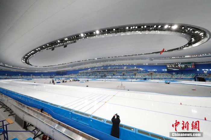 """The """"piece of ice"""" in the """"Ice Ribbon"""": Strive for the fastest, strive for perfection(6)"""